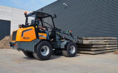 Giant G3500 compact wheel loader